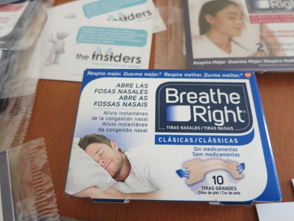 Tiras nasales Breathe Right