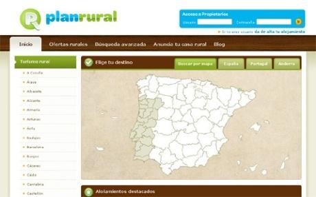 Nuevo diseño de PlanRural.com