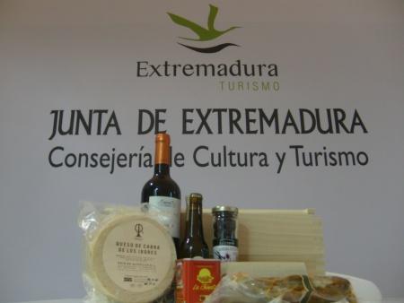 Surtido de productos de Extremadura