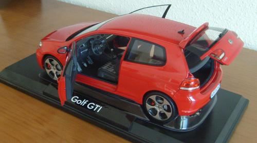 Golf GTI en miniatura