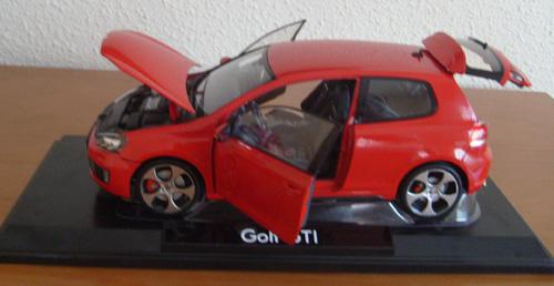 Reproducción Golf GTI