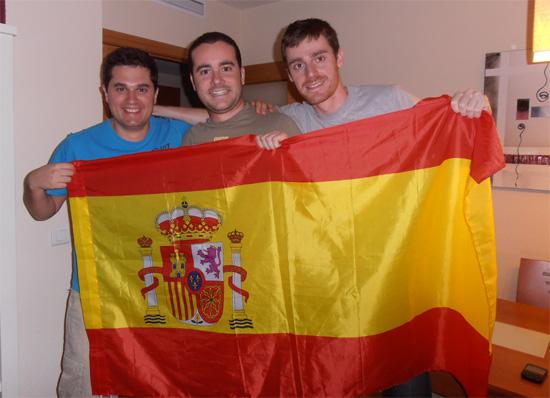 Victoria de España en la Eurocopa 2012